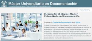 Máster en Documentación